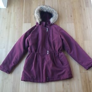Long Winter Parka Coat